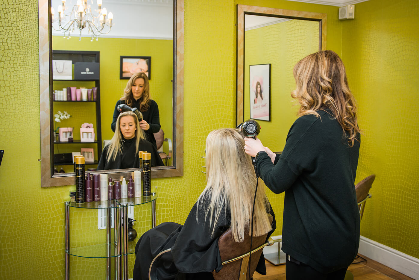 Hairdresser at Zenya Hair Salon Carlisle